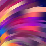 Colorful smooth light lines background. Stock Image