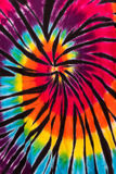 Colorful Tie Dye Spiral Pattern Design Stock Image