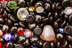 Coloured Stones Royalty Free Stock Photography