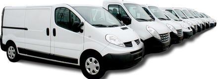 Commercial car fleet Royalty Free Stock Photo