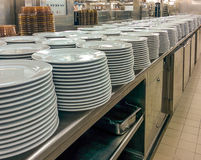 Commercial Kitchen Royalty Free Stock Photos