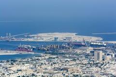 Commercial port Dubai Stock Image