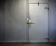 Commercial Walk-In Freezer Royalty Free Stock Photos