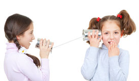 Communicatie concept Stock Foto's