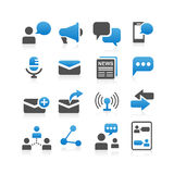 Communication concept icon Royalty Free Stock Images