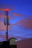 Communications Mobile Phone Radio Tower Royalty Free Stock Photography