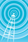 Communications Tower Royalty Free Stock Photography