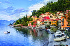 Como Lake, Italy Stock Photo