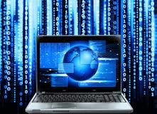 Computercode Stock Afbeelding