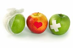 Concept of public health services and healthy way of life Royalty Free Stock Photos