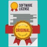 Conception d'icônes de logiciel Photo stock