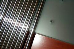 Concetto delle barre d'acciaio Fotografie Stock Libere da Diritti