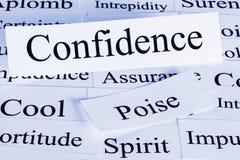 Confidence Concept Royalty Free Stock Photos
