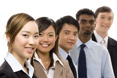 Confident Business Team 2 Royalty Free Stock Image