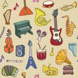 configuration de musique sans joint Illustration de vecteur Photo stock