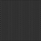 Configuration de points noire et blanche de polka Image stock