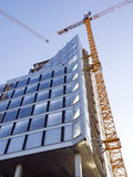 Construction of building Stock Image