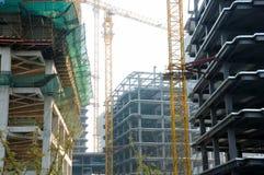 Construction in Shanghai Stock Photo
