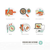Cooking and food Royalty Free Stock Images