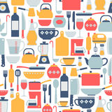 Cooking pattern Royalty Free Stock Photography