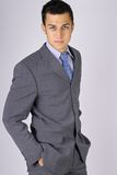 Cool looking business man Stock Photo