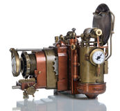 Copper Photo camera. Stock Photography
