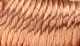 Copper wire Royalty Free Stock Image