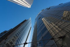 Corporate office buildings Royalty Free Stock Image