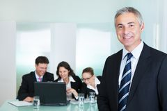 Corporate promotion and leadership Stock Photography