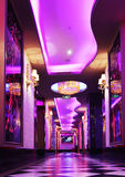 Corridor in a luxury hotel Stock Photos