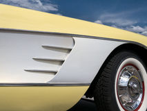 Corvette details Royalty Free Stock Photo