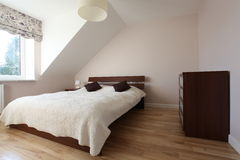 Cosy bedroom Stock Images