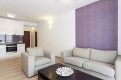 Cosy flat - sofa Royalty Free Stock Photography