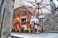 Cosy restaurant Royalty Free Stock Photo