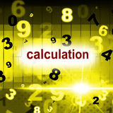 Counting Mathematics Indicates One Two Three And Arithmetic Stock Photo