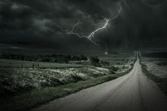 Country Storm Stock Photography