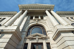 County Courthouse in Missoula, Montana Above Entrance Stock Photography