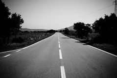 County Road Stock Photography
