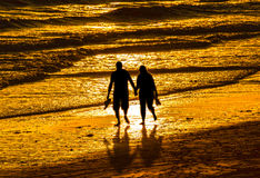 Couples marchant par Heron Photos stock