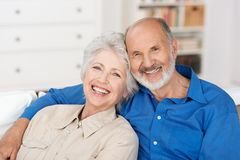 Couples supérieurs romantiques Photo stock