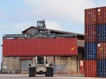Crane container Stock Photos