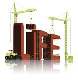 Creating life creation birth or origin Stock Photography