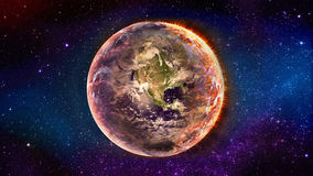Creation of the earth Stock Photography