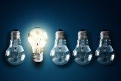 Creativiteit en innovatie Royalty-vrije Stock Foto