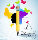 Creativity and/or writing concept Stock Images