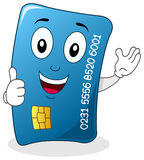 Credit Card with Thumbs Up Character Royalty Free Stock Photography