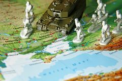 The Crimean crisis in Ukraine Royalty Free Stock Photos