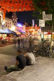 Crowd partying, nightlife in Eindhoven, The Nether Royalty Free Stock Images