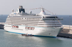 Cruise Ship Crystal Serenity Royalty Free Stock Images