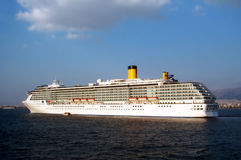 Cruisership enorme Fotografia de Stock Royalty Free